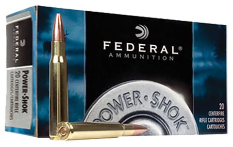 Federal 7WSME Power-Shok 7mm Winchester Short Mag Soft Point 150 GR 20Box/10Case