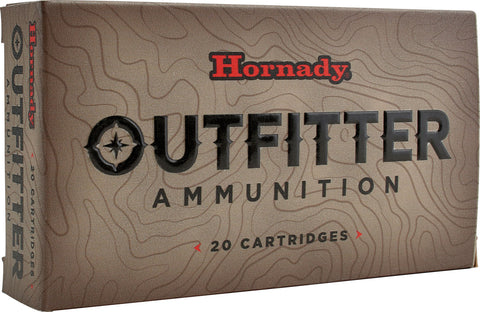 Hornady Outfitter 257 Wthby Mag 90 gr GMX 20 Bx/ 10 Cs