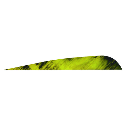 Gateway Tre-Bark Feathers Tre-Yellow 4 in. RW 100 pk.