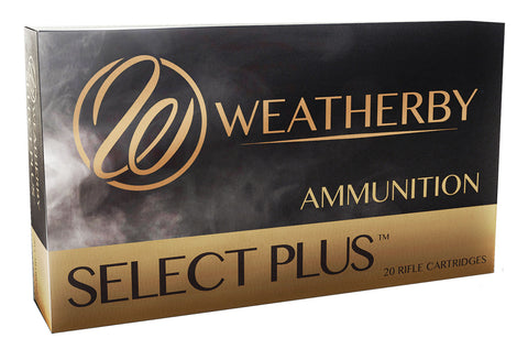 Weatherby H257110ELDX Select Plus  257 Wthby Mag 110 gr Hornady ELD-X 20 Bx/ 10 Cs