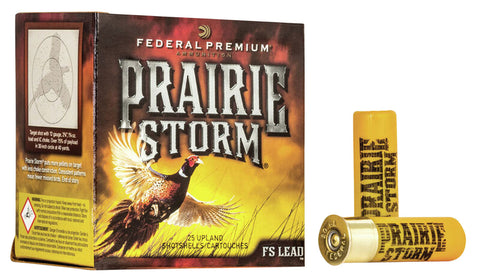 "Federal PFX289FS6 Prairie Storm  16 Gauge 2.75"" 1 oz 6 Shot 25 Bx/ 10 Cs"