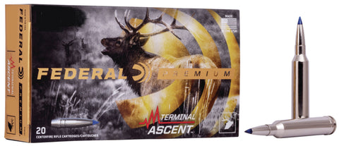 Federal P280A1TA1 Premium  280 Ackley Improved 155 gr Terminal Ascent 20 Bx/ 10 Cs