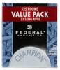 Federal 745 Champion 22 LR Copper-Plated Hollow Point 36 GR 525Box/10Case - 525 Rounds