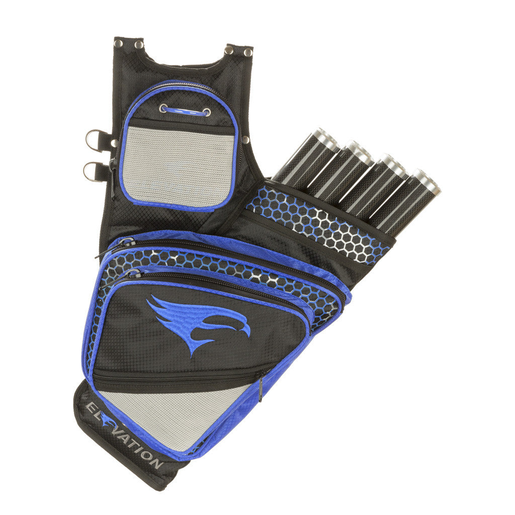 Elevation Adrenalin Quiver Black/Blue 4 Tube LH