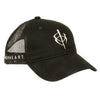 BlackHeart Mesh Hat Black One Size
