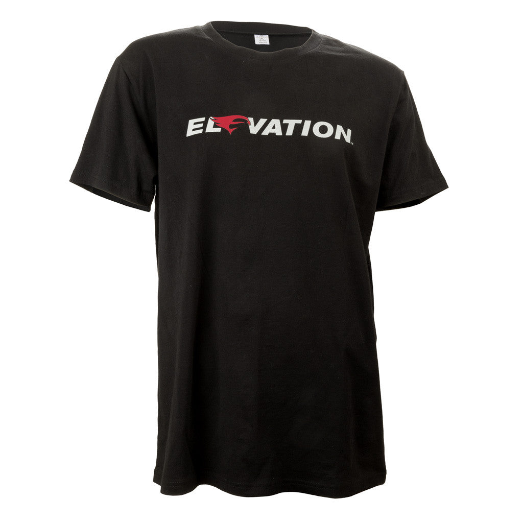 Elevation Logo T-Shirt Black Small