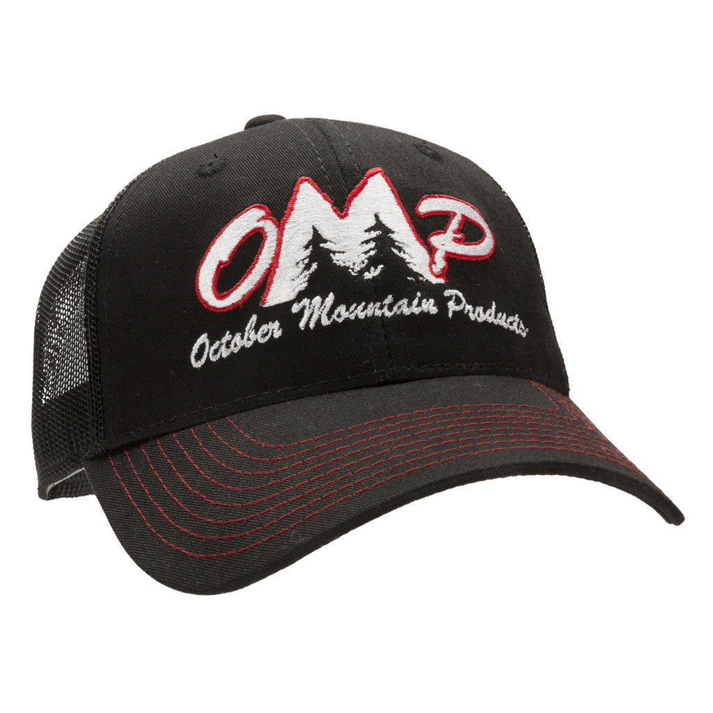 OMP Mesh Hat One Size Black