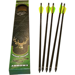 Barnett Head Hunter Bolts Carbon 20 in. 5 pk.