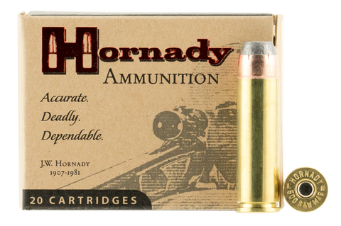 Hornady 9252 500S&W 500GR XTP Flat Point 20 Box/ 10Case