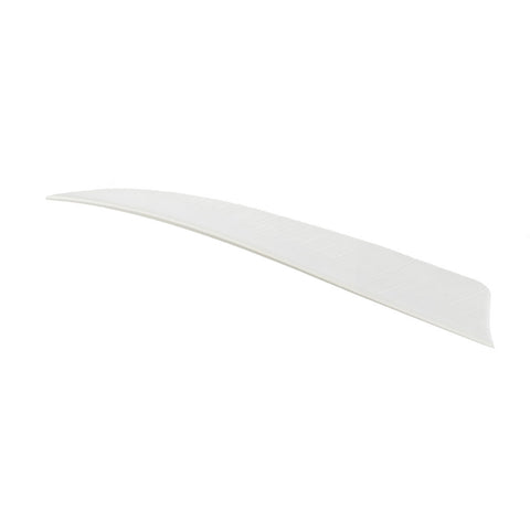 Trueflight Shield Cut Feathers White 5 in. RW 100 pk.