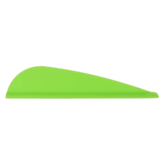AAE Elite Plastifletch Vanes Bright Green 1.75 in. 100 pk.