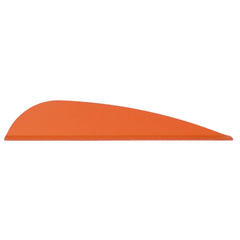 AAE Elite Plastifletch Vanes Fire Orange 2.875 in. 100 pk.