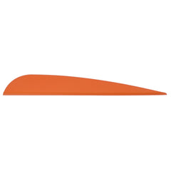 AAE Elite Plastifletch Vanes Fire Orange 3.875 in. 100 pk.