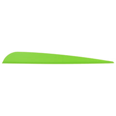 AAE Elite Plastifletch Vanes Bright Green 4.75 in. 100 pk.