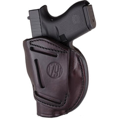 1791 Gunleather 4 Way IWB & OWB Holster Size 1 Signature Brown Right Hand