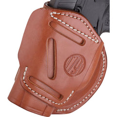 1791 Gunleather 4 Way IWB & OWB Holster Size 2 Classic Brown Right Hand