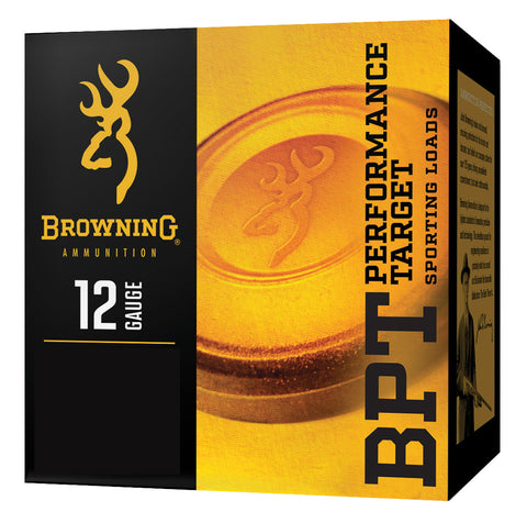"Browning Ammo B193631227 BPT  12 Gauge 2.75"" 1 1/8 oz 7.5 Shot 25 Bx/ 10 Cs"