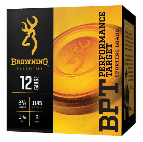 "Browning Ammo B193611628 BPT  16 Gauge 2.75"" 1 oz 8 Shot 25 Bx/ 10 Cs"