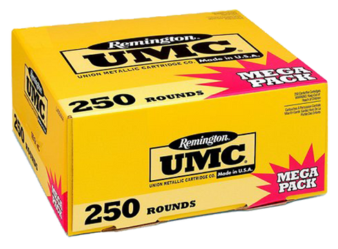 Remington Ammunition L380APA UMC 380 ACP Metal Case 95 GR 250Box/4Case - 250 Rounds