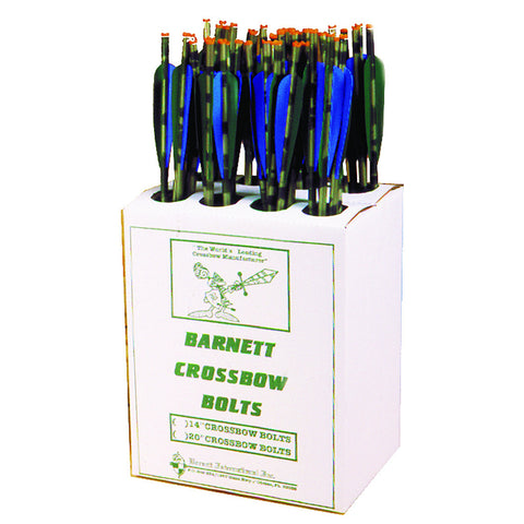 Barnett Head Hunter Bolts Carbon 20 in. 48 pk.
