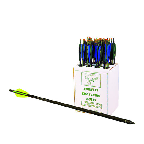 Barnett Head Hunter Bolts Carbon 22 in. 48 pk.