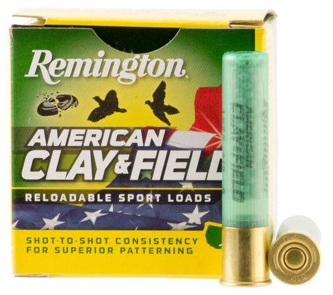 "Remington Ammunition HT4108 American Clay & Field Sport  410 Gauge 2.5"" 1/2 oz 8 Shot 25 Bx/ 10 Cs"