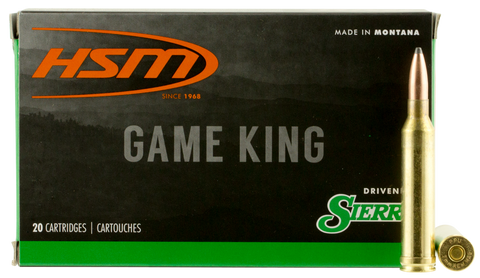 HSM 7STW8N Game King 7mm Shooting Times Westerner 160 GR SBT 20 Bx/ 20 Cs