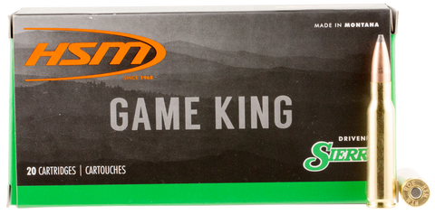 HSM 300SAV6N Game King 300 Savage 150 GR SBT 20 Bx/ 25 Cs