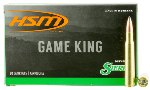 HSM 3040KRAG10N Game King 30-40 Krag 165 GR SBT 20 Bx/ 20 Cs