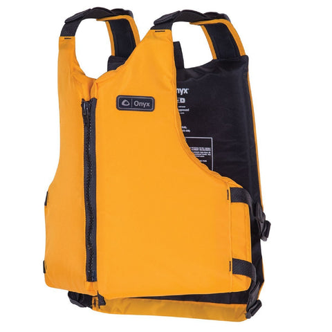 Onyx Livery Paddle Vest Adult Universal - Yellow