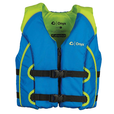 Onyx All Adventure Youth Vest - Green/Blue