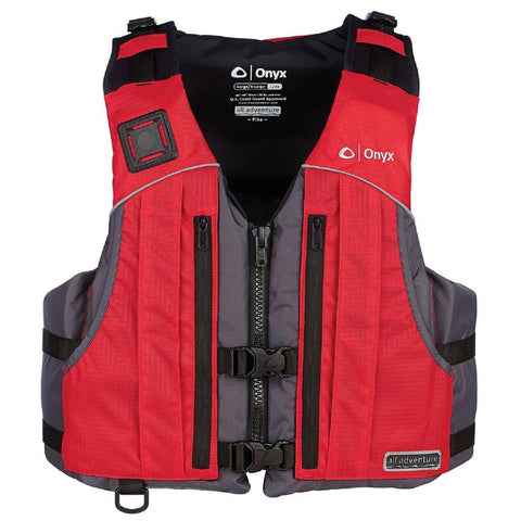 Onyx All Adventure Pike Vest - Red S/M