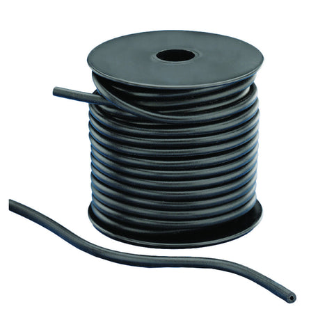 Pine Ridge Peep Sight Tubing Silicone Black 50 ft.