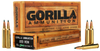 GORILLA AMMUNITION GA22355SBK Gorilla Match 223 Remington/5.56 NATO 55 GR Sierra BlitzKing 20 Bx/ 10 Cs