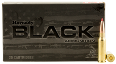 Hornady 81528 Black 6.5mm Grendel 123 GR ELD-Match 20 Bx/ 10 Cs