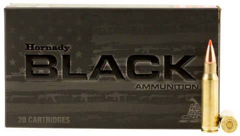 Hornady 83464 Black 6.8mm Remington SPC 110 GR V-Max 20 Bx/ 10 Cs