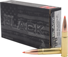 Hornady 80891 Black 300 AAC Blackout/Whisper (7.62X35mm) 208 GR A-Max 20 Bx/ 10 Cs