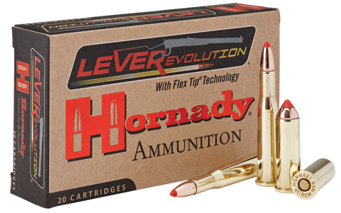 Hornady 9078 LEVERevolution 41 Remington Magnum 190 GR FTX 20 Bx/ 10 Cs