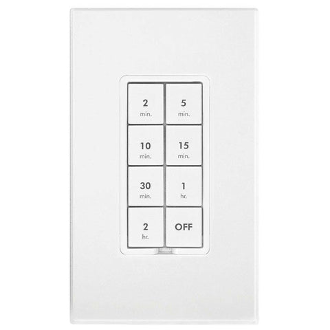 Insteon 8 Button Keypad White Box with Blue Label