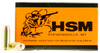 HSM 10MM2N Training 10mm Automatic 180 GR FMJ 50 Bx/ 20 Cs