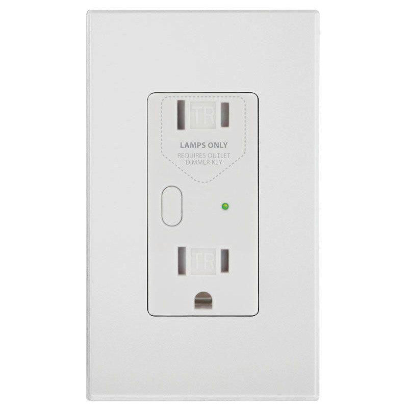 Insteon Dimmable outlet White Box with Blue Label