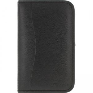 rooCASE - Executive Portfolio Leather Case for Samsung Galaxy Tab Pro 8.4, Black