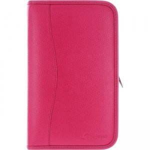 rooCASE - Executive Portfolio Leather Case for Samsung Galaxy Tab Pro 8.4, Magenta