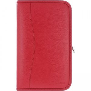 rooCASE - Executive Portfolio Leather Case for Samsung Galaxy Tab Pro 8.4, Red
