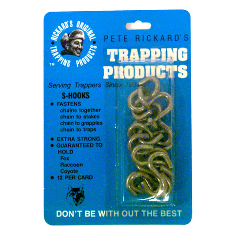 Rickards Heavy Duty S Hooks 12 pk.