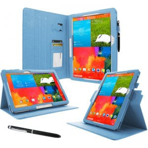 rooCASE - Samsung Galaxy Note Pro Dual-View Case, Blue