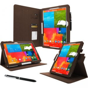 rooCASE - Samsung Galaxy Note Pro Dual-View Case, Brown