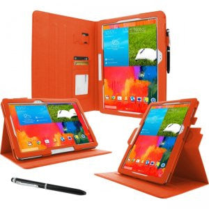rooCASE - Samsung Galaxy Note Pro Dual-View Case, Orange