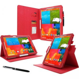 rooCASE - Samsung Galaxy Note Pro Dual-View Case, Red