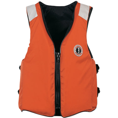 Mustang Standard Vest with SOLAS Tape - XL - Orange